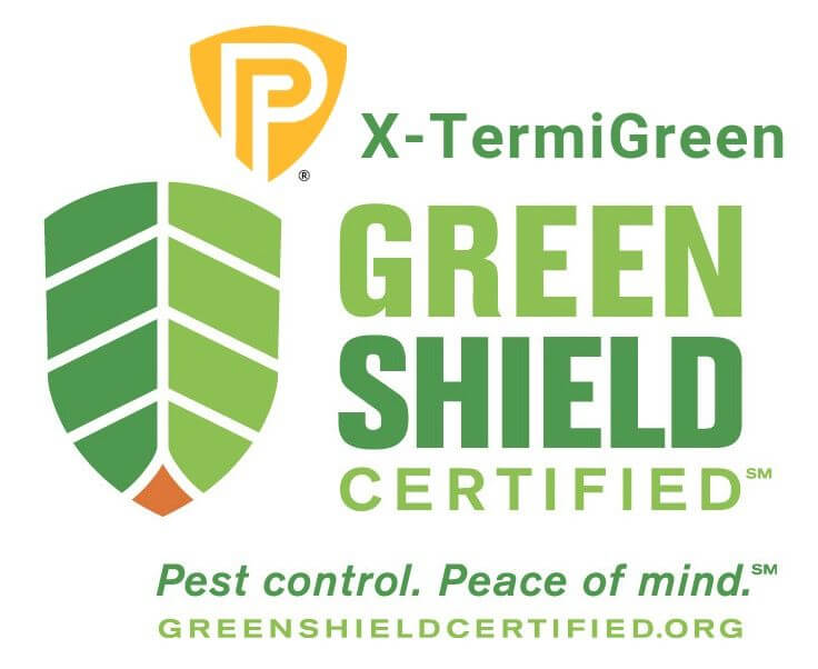 Green Shield Certified Pest Control logo