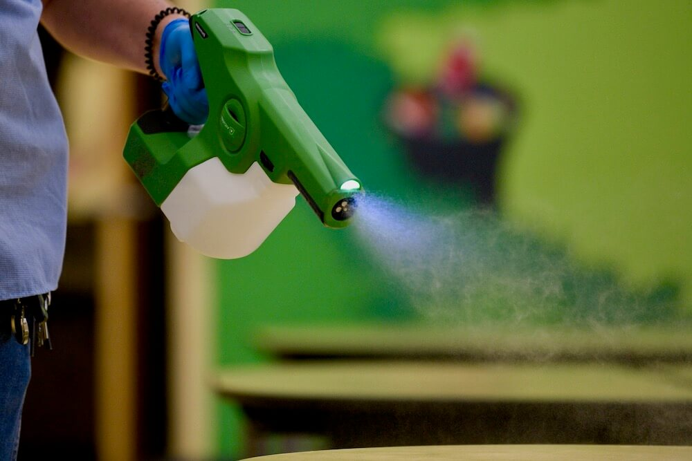 Pittsburgh Electrostatic Disinfecting Spray